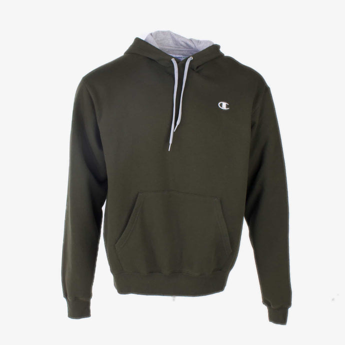 Vintage Champion Spellout Hoodie- Green - American Madness