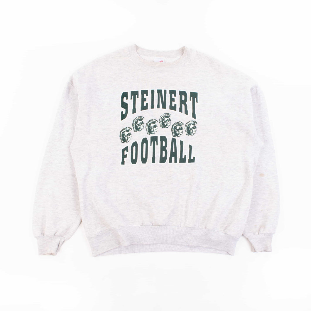 Vintage 'Steinert Football' Jerzees Sweatshirt - American Madness