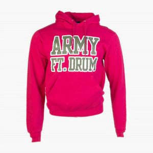 Vintage Champion 'Army' Hooded Sweatshirt - Pink - American Madness