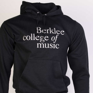 Vintage Champion 'Berklee' Hooded Sweatshirt - Black - American Madness