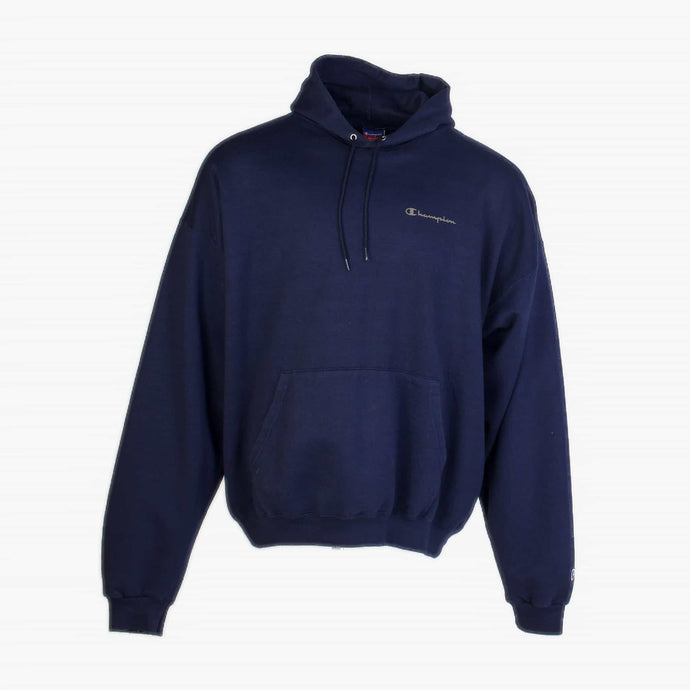 Vintage Champion Spellout Sweatshirt - Navy - American Madness