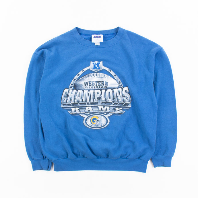 Vintage 'Rams NFL Western Division Champs' Sweatshirt - American Madness