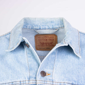 Vintage Levi's Trucker Jacket Washed - American Madness
