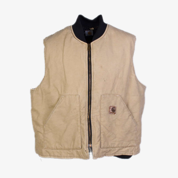 Vintage Carhartt Insulated Vest - Hamilton Brown - American Madness