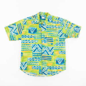 Vintage 'Key Lime Funk' Hawaiian Shirt - American Madness