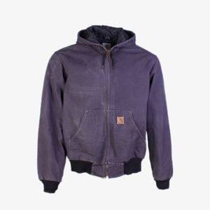 Vintage Carhartt Active Hooded Jacket - Purple