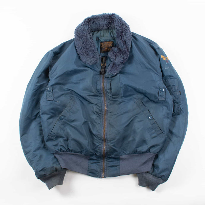 Vintage Alpha Industries MA-1 Jacket - Navy