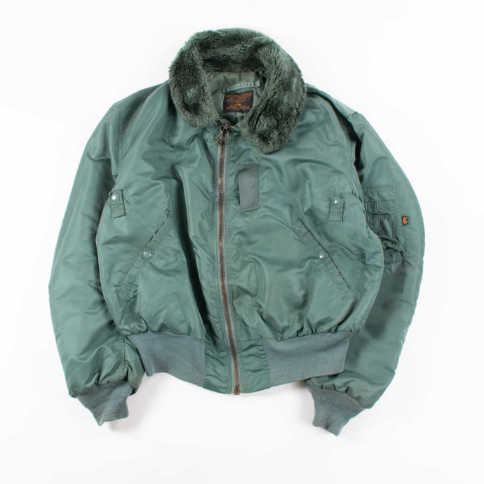 Vintage Alpha Industries MA-1 Jacket - Olive
