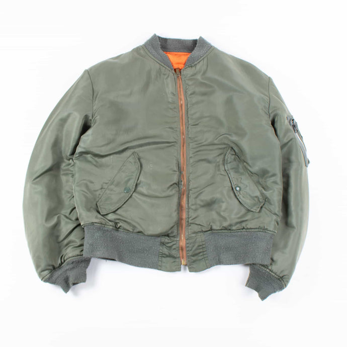 Vintage Alpha Industries MA-1 Flight Jacket - Olive