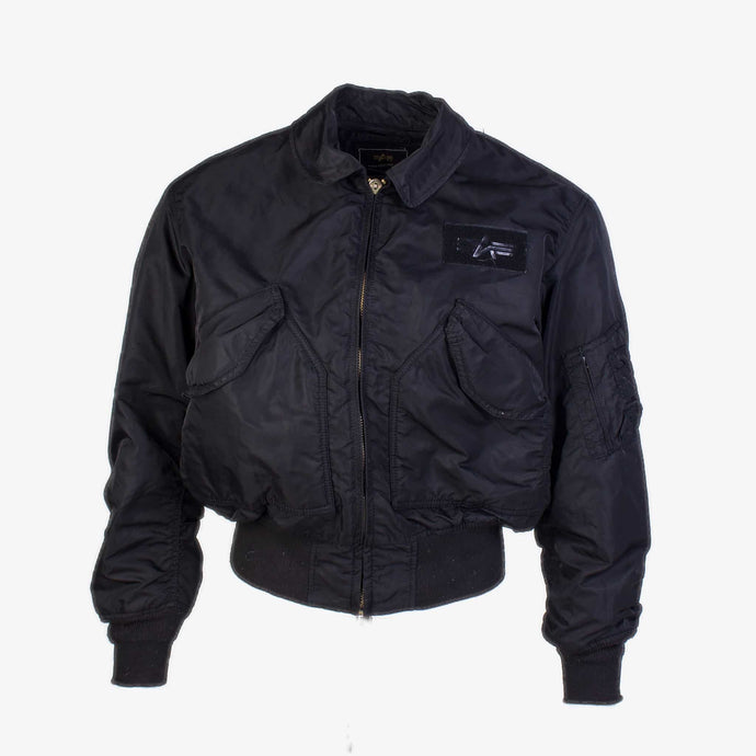 Vintage Alpha Industries MA-2 Bomber Jacket - Black - American Madness