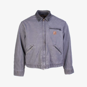 Vintage Carhartt Detroit Jacket - Grey - American Madness