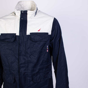 Vintage Nautica Colourblock Shell Jacket - American Madness
