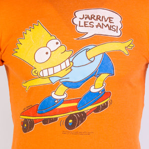 Vintage 1990 Bart from the Simpsons T-Shirt - American Madness
