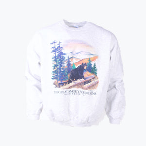 Vintage  'The Great Smoky Mountains' Sweatshirt - American Madness