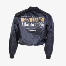 Vintage Atlanta 1996 Satin Baseball Jacket - Black - American Madness