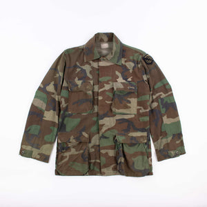 Vintage U.S Army Woodland Camouflage Field Jacket - American Madness