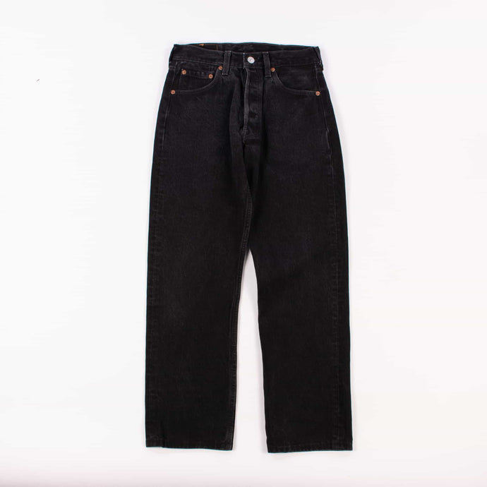 Vintage Levi's 501 Jeans Washed Black - American Madness