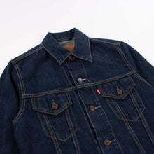 Vintage Levi's Trucker Jacket in Raw Indigo - American Madness