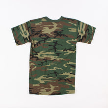 Vintage U.S Army Woodland Camouflage PT T-Shirt - American Madness