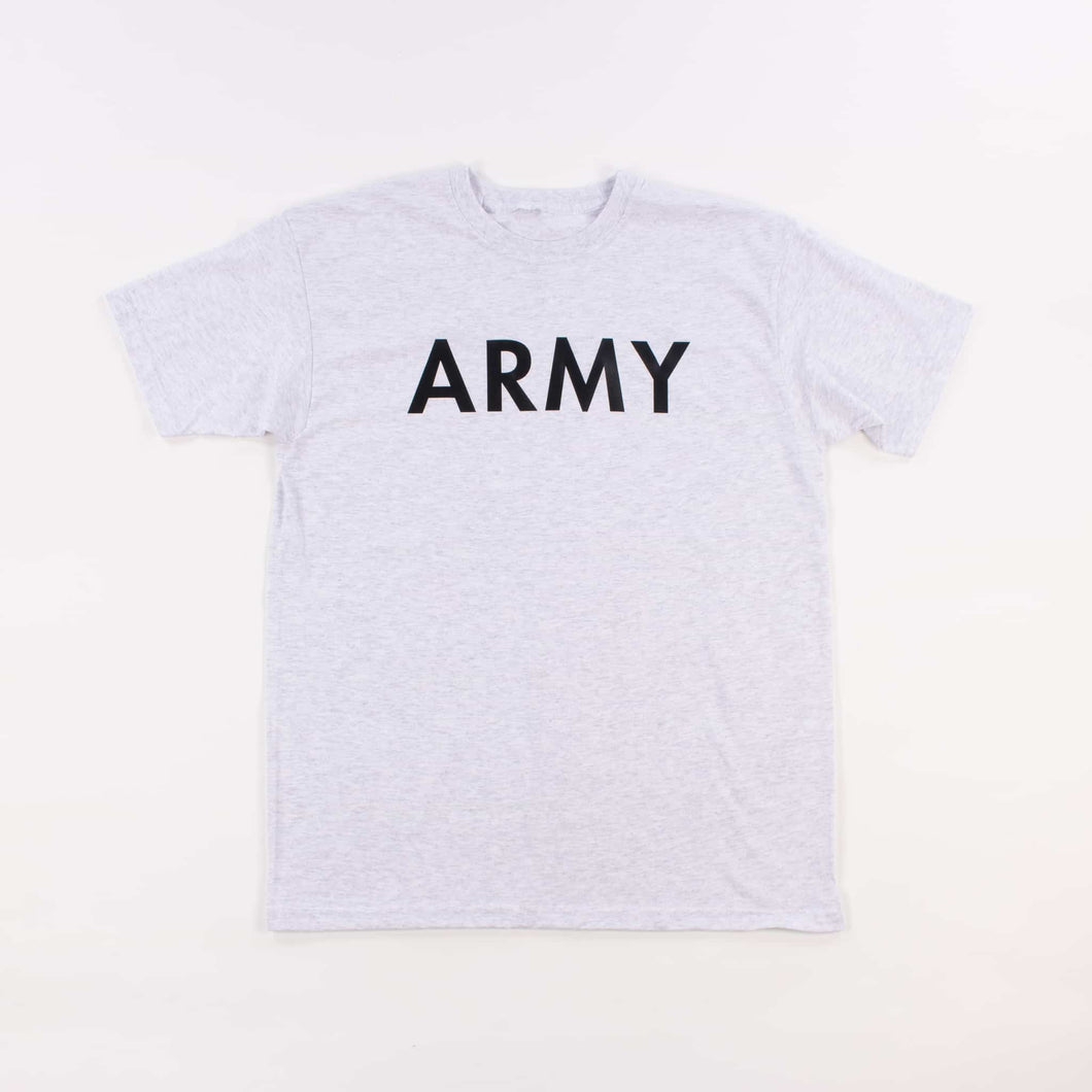 Vintage U.S Army Heather Grey PT T-Shirt - American Madness