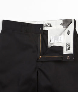 Dickies Original 874 Work Trousers - Black - American Madness