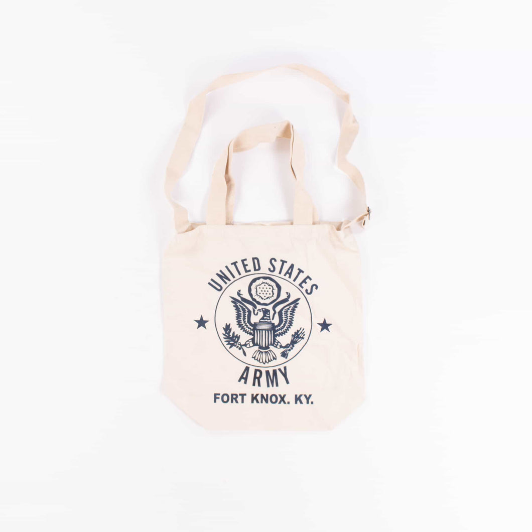 Vintage U.S Army Fort Knox Tote Bag - American Madness