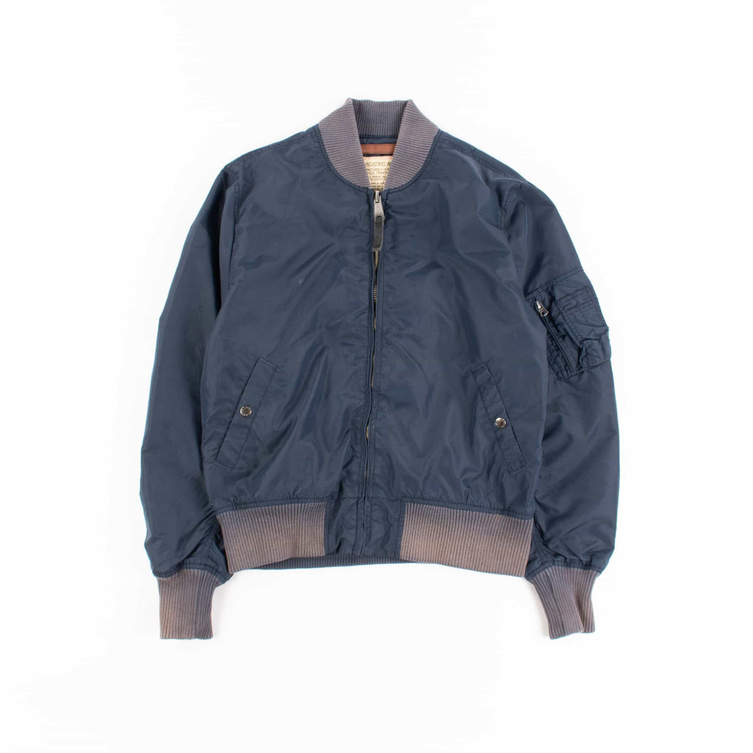 Vintage Alpha Industries MA-1 Bomber Jacket - Navy - American Madness