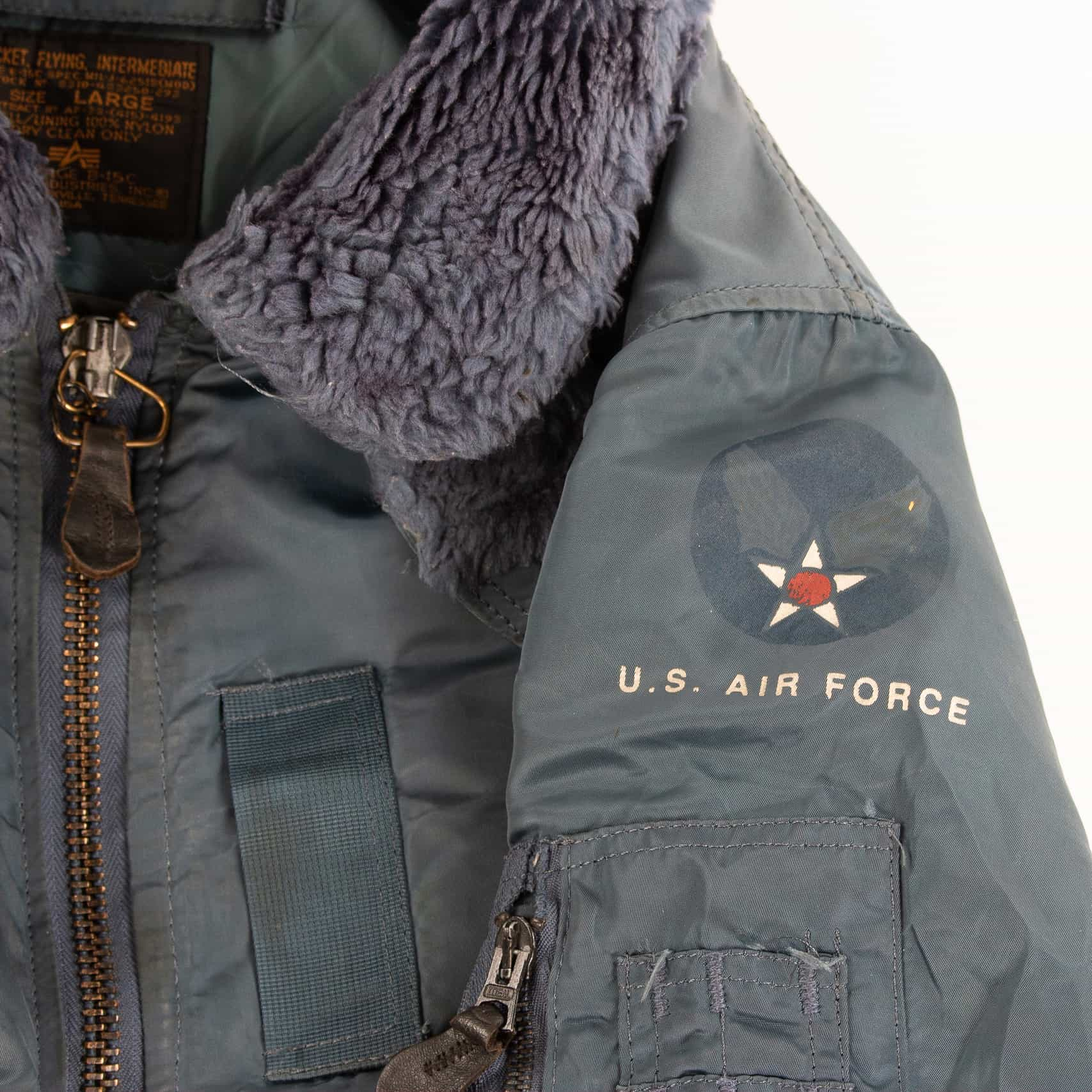 designer fashion 48011 7949b Vintage Alpha Industries U.S Air Force 'Wings of Victory' MA ...