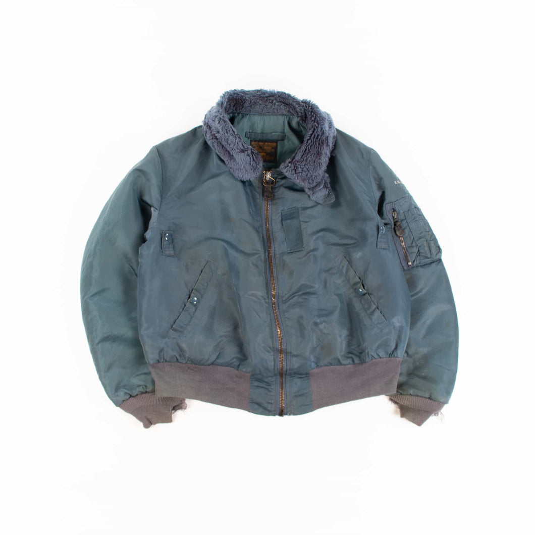 Vintage Alpha Industries U.S Air Force 'Wings of Victory' MA-1 B15-C Bomber Jacket - American Madness
