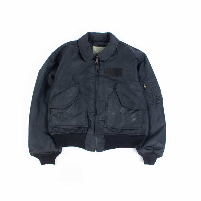 Vintage Alpha Industries CWU MA-2 Bomber Jacket - Black - American Madness