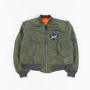 Vintage Alpha Industries MA-1 Bomber Jacket - American Madness