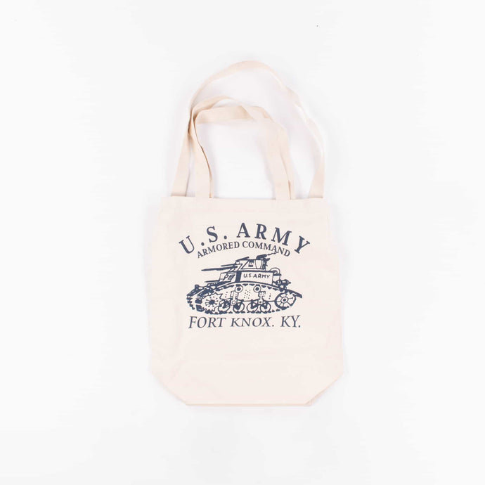 Vintage U.S Army Fort Knox Tote Bag