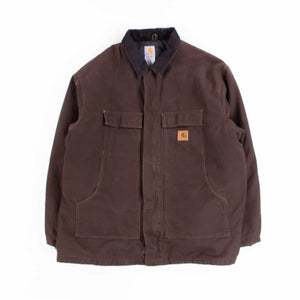 Vintage Carhartt Traditional Jacket - Brown - American Madness