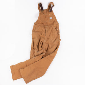 Vintage Carhartt Duck Dungarees / Bib Overalls - American Madness