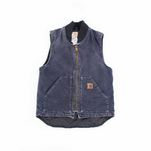 Vintage Carhartt Insulated Vest - Navy - American Madness