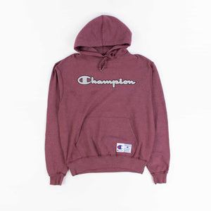 Vintage Champion Big Spellout Logo Warmup Sweatshirt - American Madness