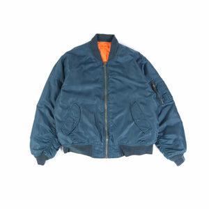 Vintage U.S Air Force MA-1 Bomber Jacket - Blue