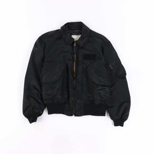 Vintage U.S Air Force CWU MA-2 Bomber Jacket - Black