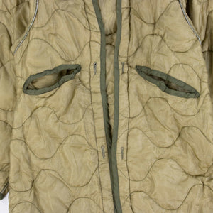 Vintage U.S Army Night Camouflage Desert Parka Liner - American Madness