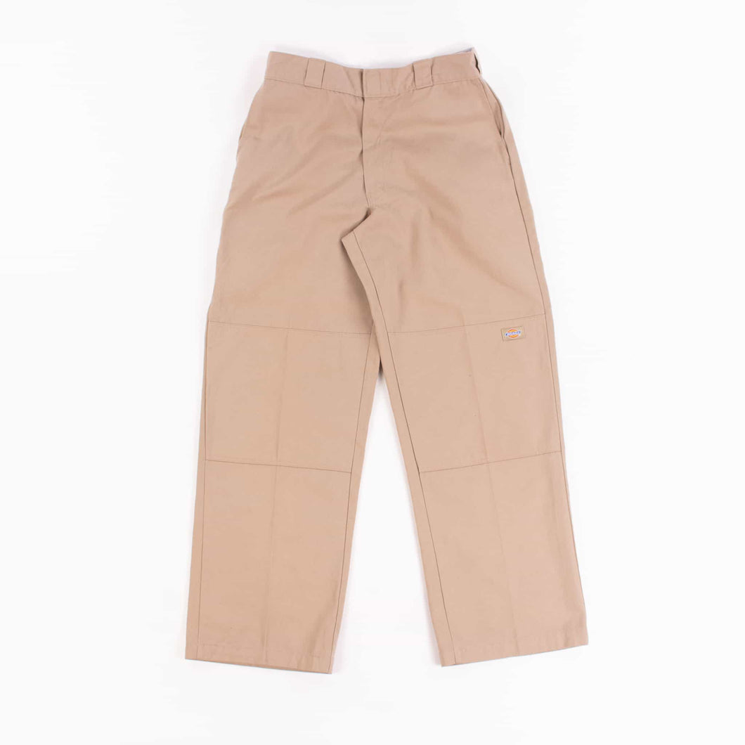 Dickies Double Knee Work Trousers - Khaki - American Madness