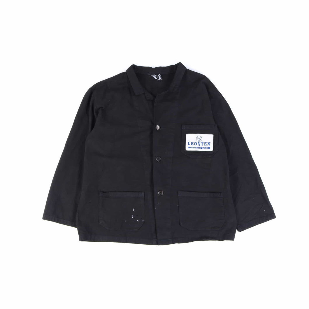 Vintage 1980's Black French Chore Jacket - American Madness