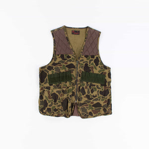 Vintage Frogskin Camouflage Hunting Vest - American Madness