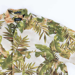 Vintage 'Green Palm' Hawaiian Shirt - American Madness