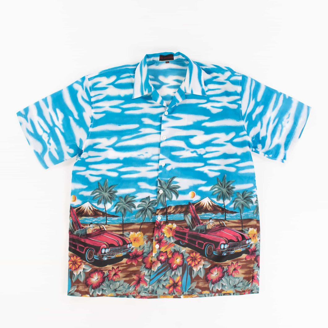 Vintage 'Tropical Surf' Hawaiian Shirt - American Madness