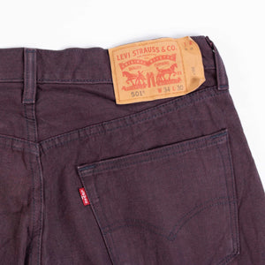 Vintage Levi's 501 Jeans - Purple - American Madness