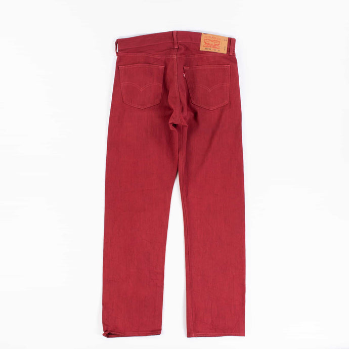 Vintage Levi's 501 Jeans - Red - American Madness