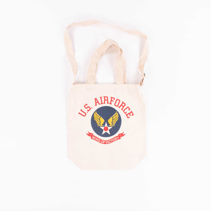 Vintage U.S Air Force 'Wings of Victory' Tote Bag - American Madness