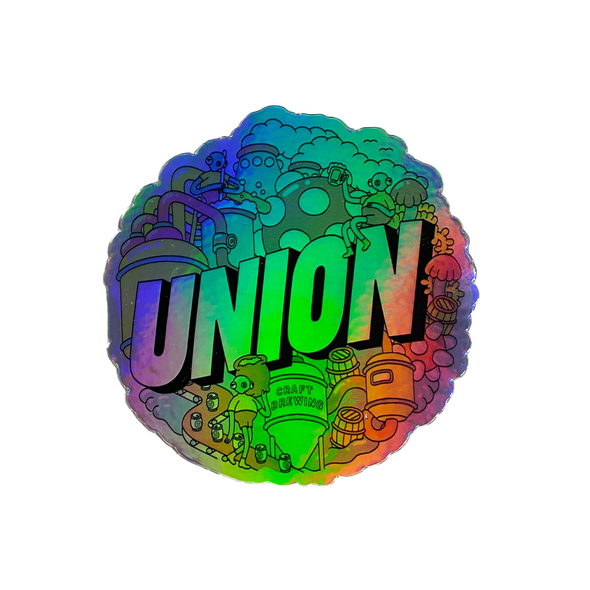 Wilson Holographic Sticker (back in stock!)