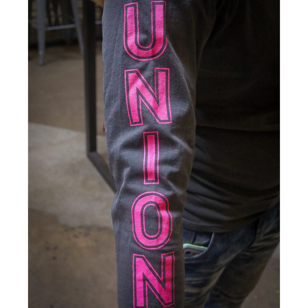 UNION Long Sleeve - Shadow/Pink