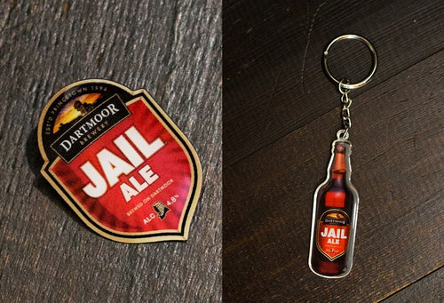 Jail Ale Key Ring & Pin Badge
